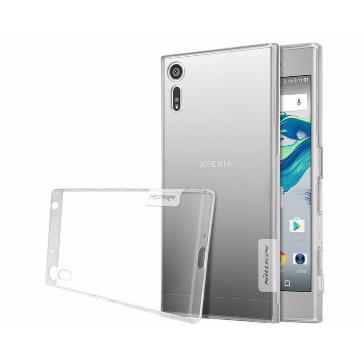 Nillkin Nature TPU Pouzdro Transparent pro Sony F8331 Xperia XZ