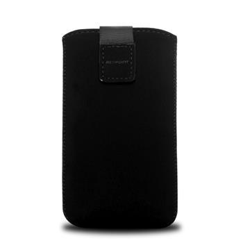 RedPoint Velvet,mikroplyš, vel. XL, černé