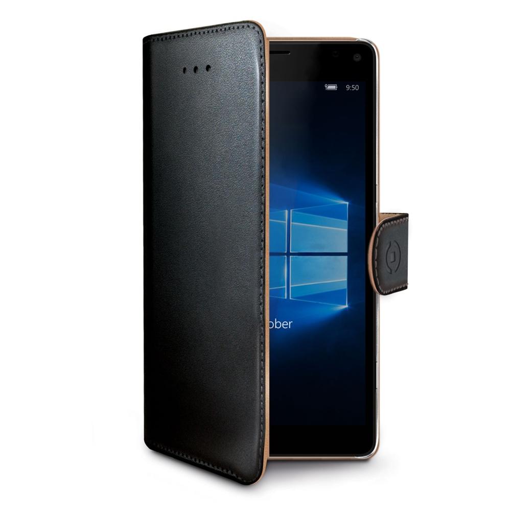 Pouzdro typu kniha Wallet Lumia 950 XL, černé