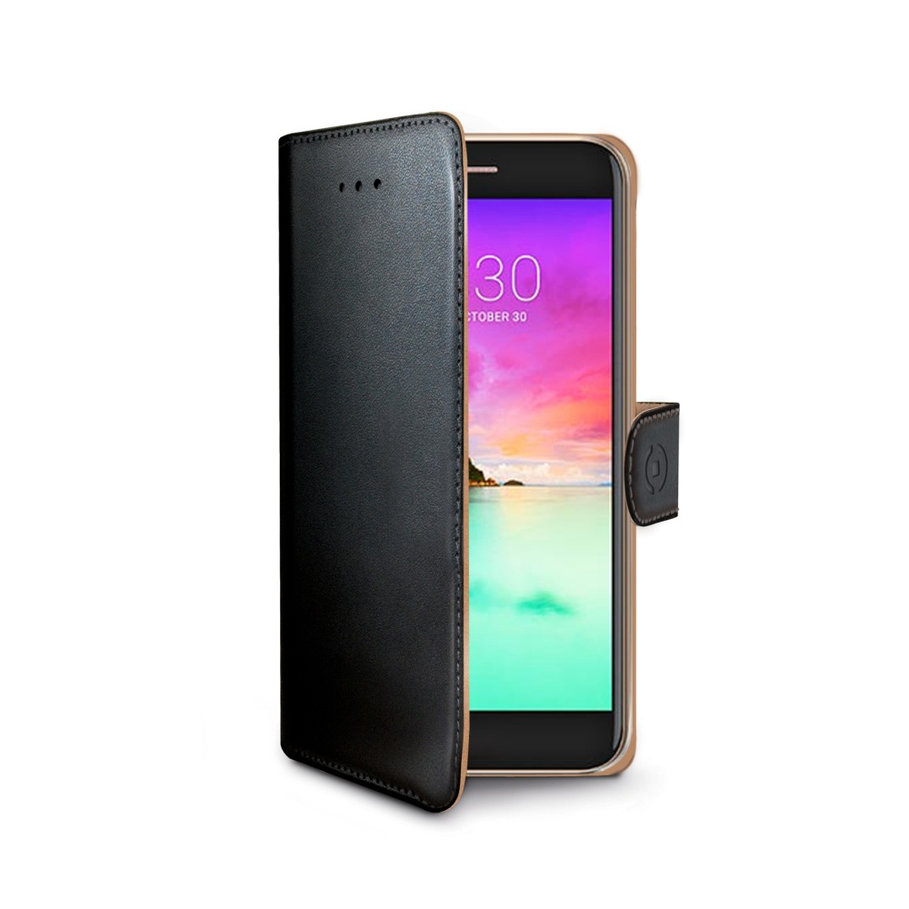 Pouzdro typu kniha Wallet LG K10 (2017), černé
