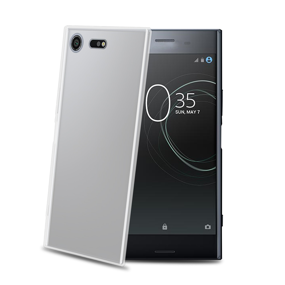 TPU pouzdro CELLY Xperia XZ Premium, bezbarvé