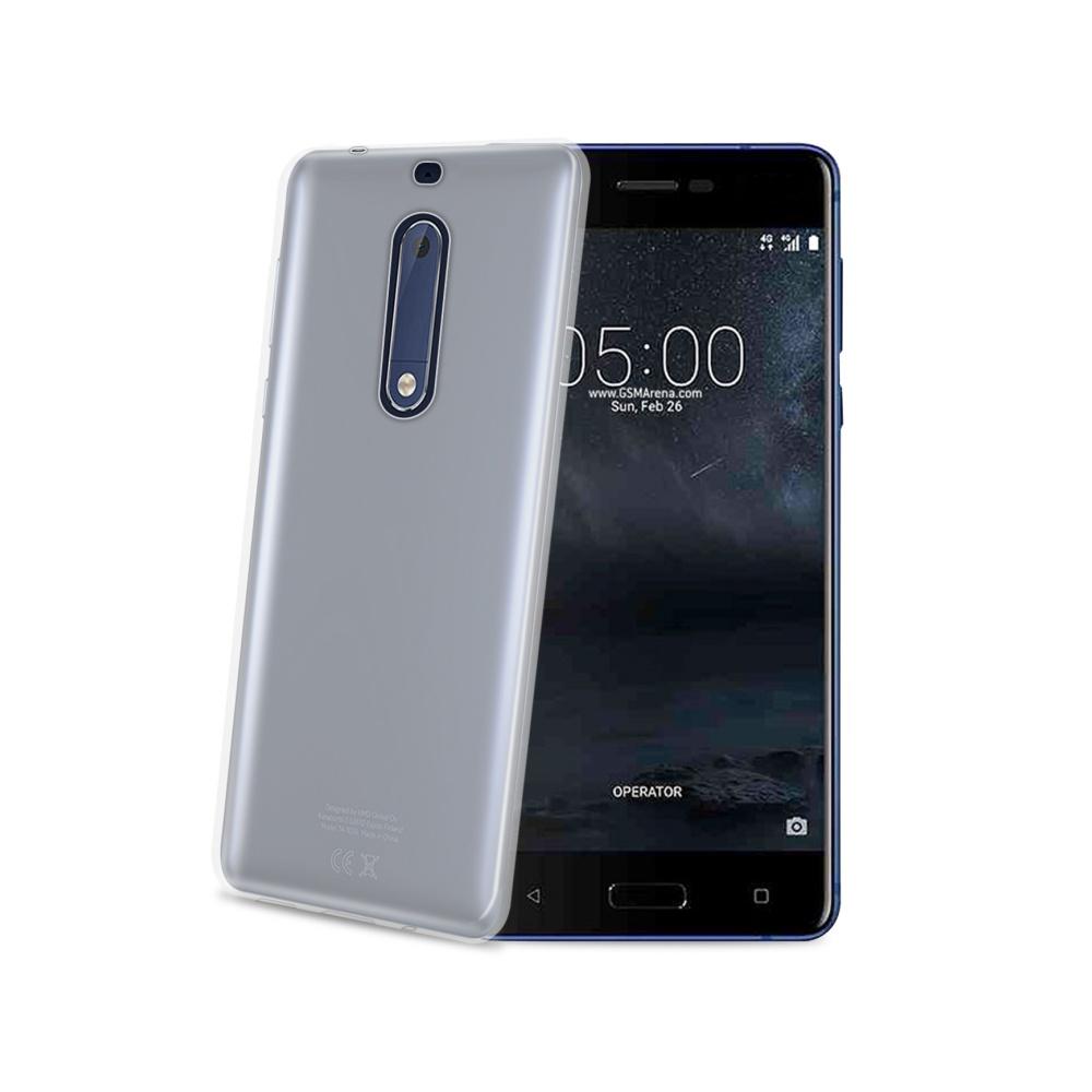 TPU pouzdro CELLY Nokia 5, bezbarvé