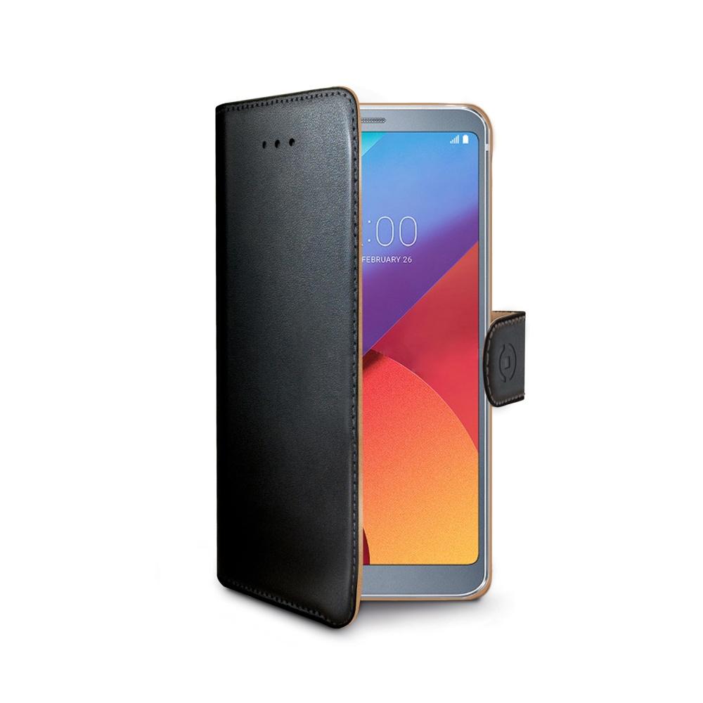 Pouzdro typu kniha Wallet LG G6, černé