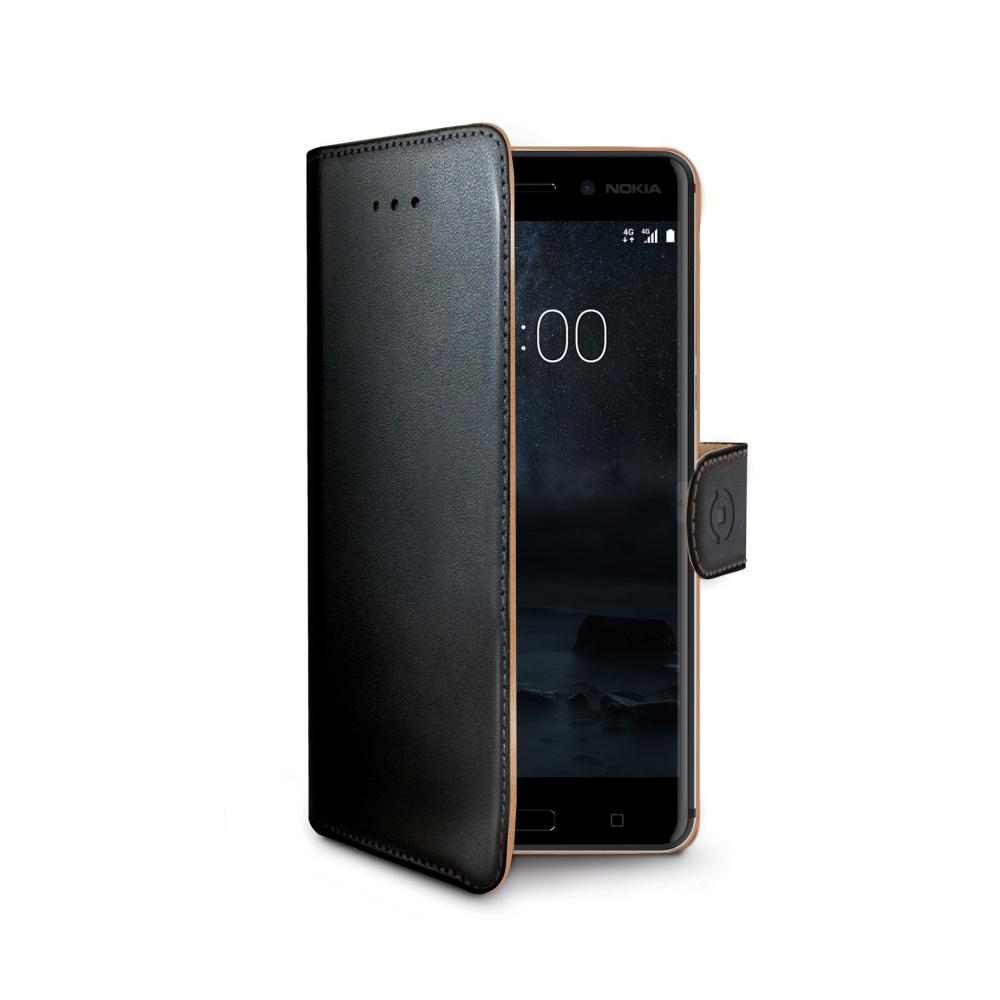 Pouzdro typu kniha Wallet Nokia 6, černé