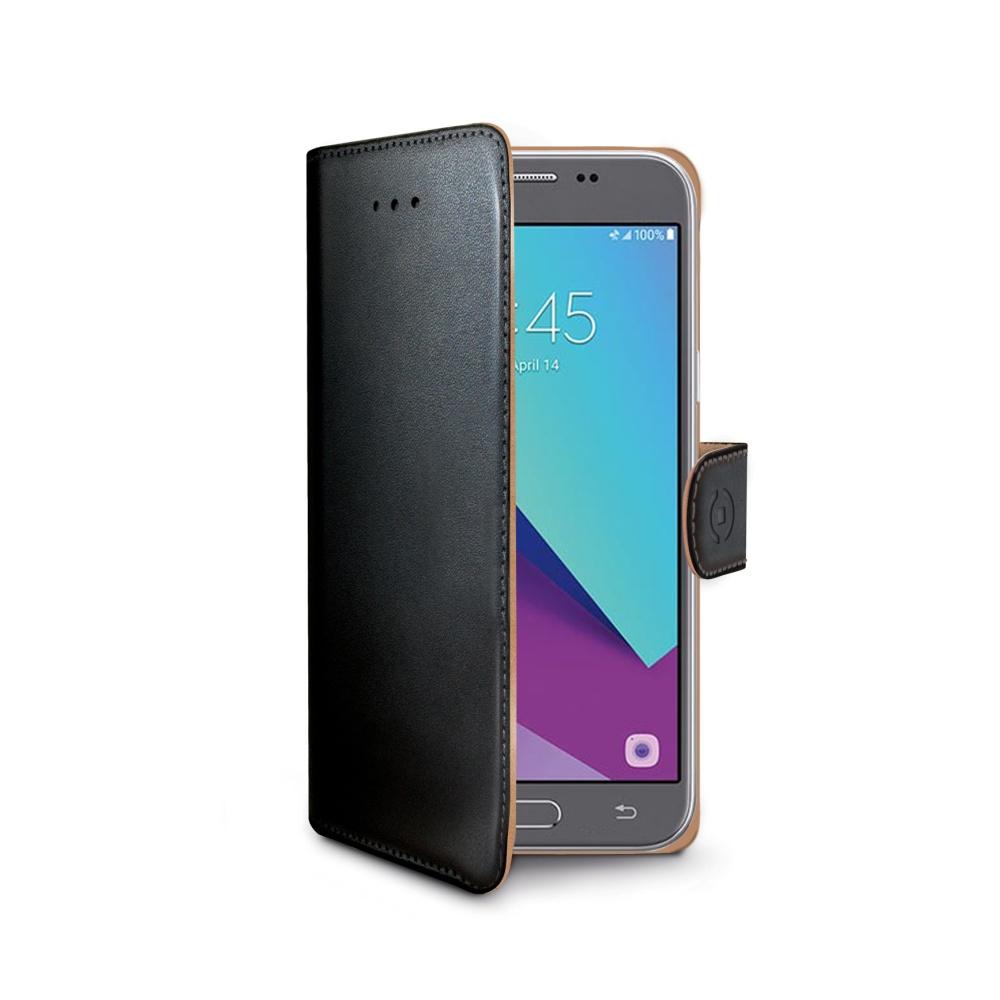 Pouzdro typu kniha Wallet Galaxy J3 (2017), černé