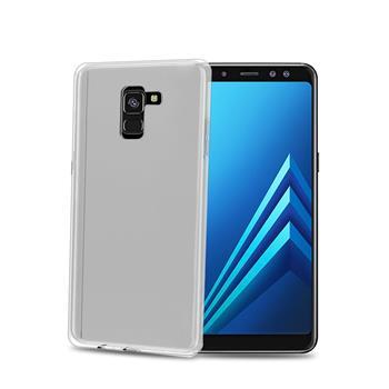 TPU pouzdro CELLY Galaxy A8 (2018), bezbarvé
