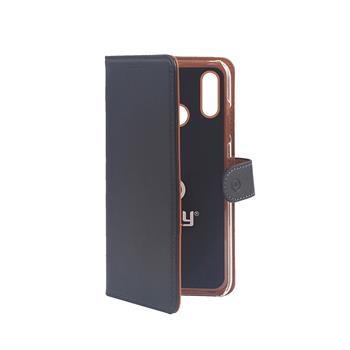 Pouzdro typu kniha Wallet Honor 10 Lite, černé