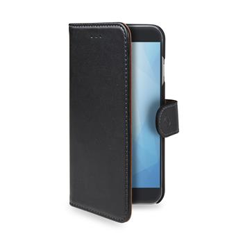 Pouzdro typu kniha Wallet Galaxy A50, černé