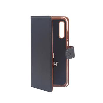 Pouzdro typu kniha Wallet Galaxy A70, černé
