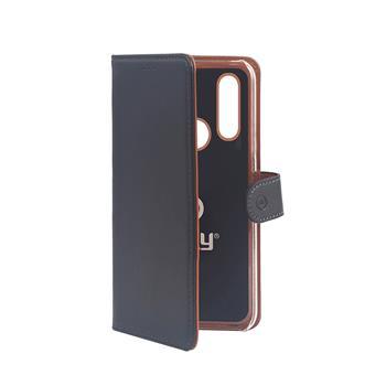 Pouzdro typu kniha Wallet Huawei P30 Lite, černé