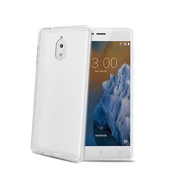 TPU pouzdro CELLY Nokia 3.1/Nokia 3 (2018), bezbarvé