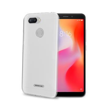 TPU pouzdro CELLY Xiaomi Redmi 6, bezbarvé