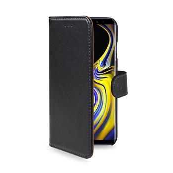 Pouzdro typu kniha Wallet Galaxy Note 9, černé