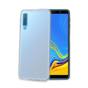 TPU pouzdro CELLY Galaxy A7 (2018), bezbarvé
