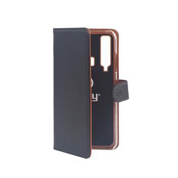 Pouzdro typu kniha Wallet Galaxy A9 (2018), černé