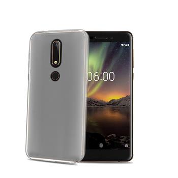 TPU pouzdro CELLY Nokia 6.1 Plus, bezbarvé