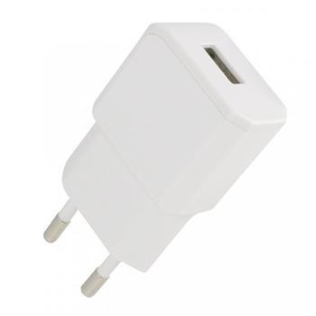 Cestovní nabíječka Fontastic NANO USB, 1A, bílá
