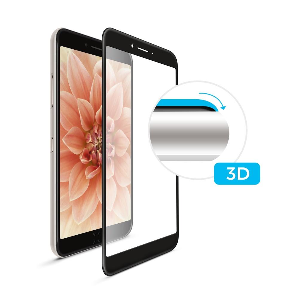 3D sklo FIXED iPhone 7Plus/8Plus,plné lepení,černé