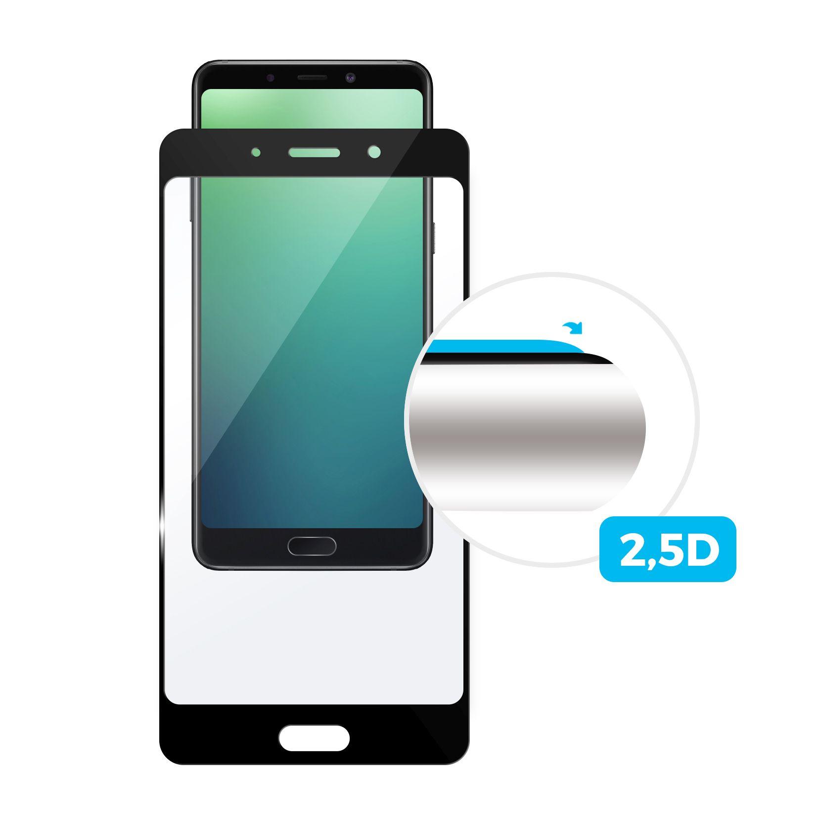 Tvrzené sklo FIXED ZenFone 4 Max (ZC554KL), černé