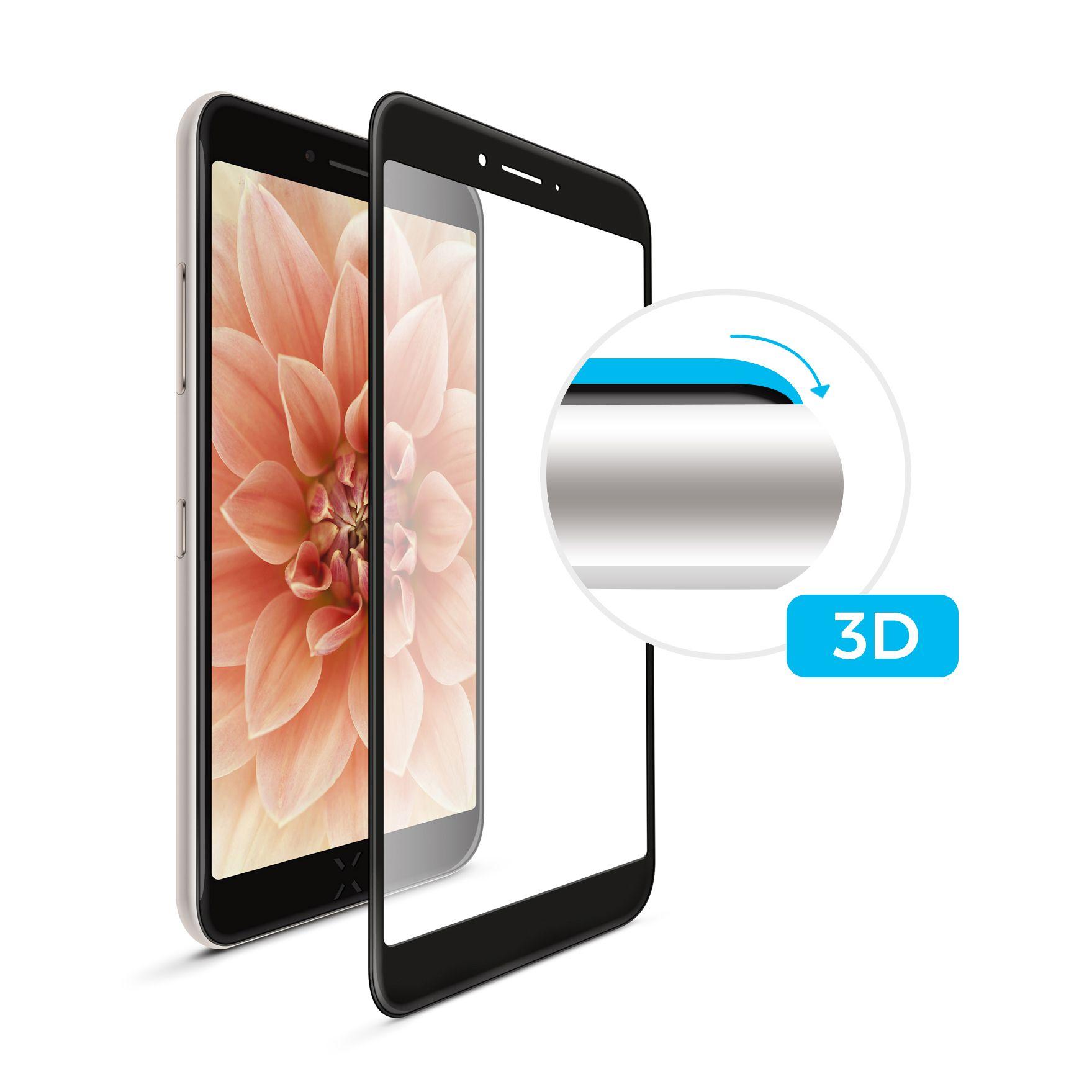 3D sklo FIXED iPhone XR/11, plné lepení,černé