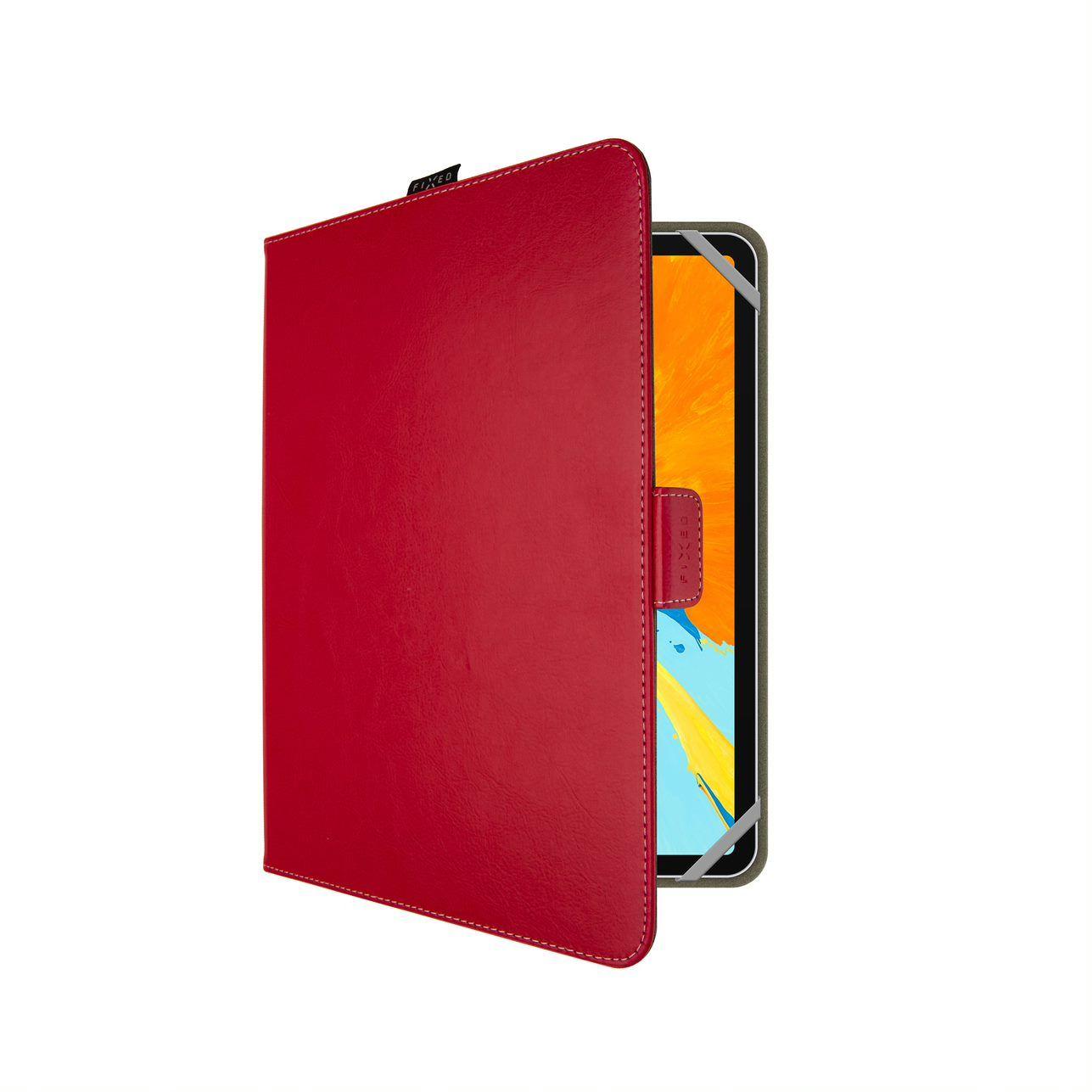 Pouzdro pro 10,1'' tablety FIXED Novel, červené - FIXNOV-T10-RD