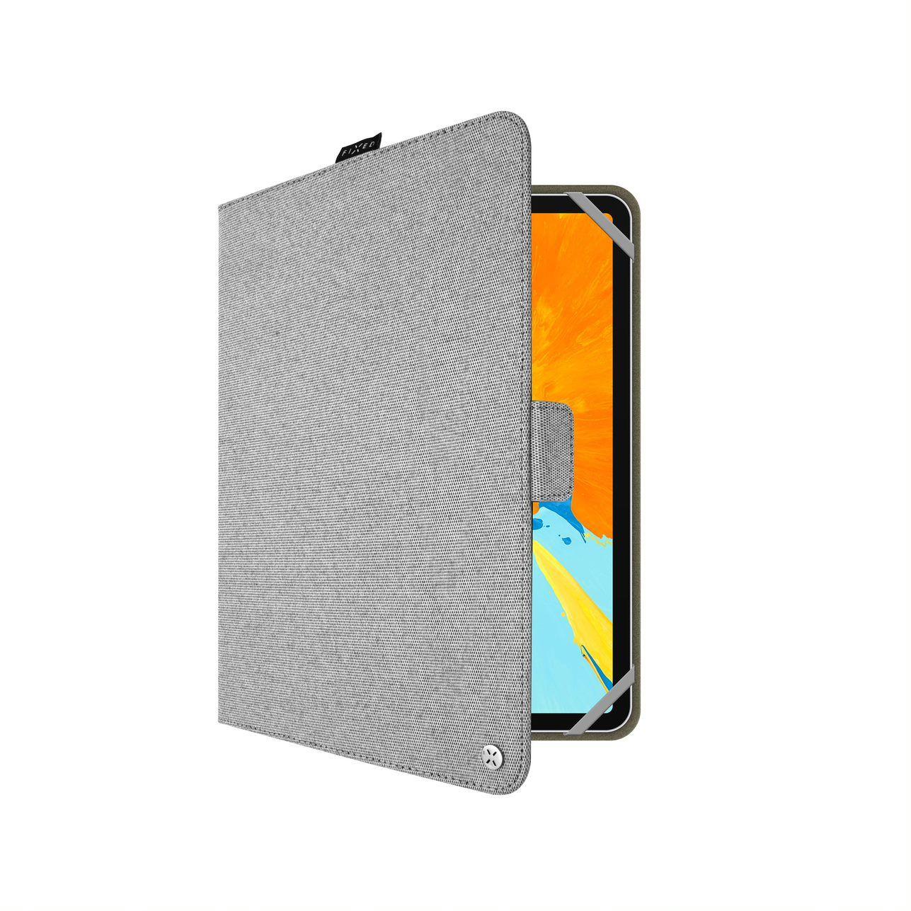 Textilní Pouzdro pro 10,1'' tablet FIXED, šedá - FIXNOV-T10-GR