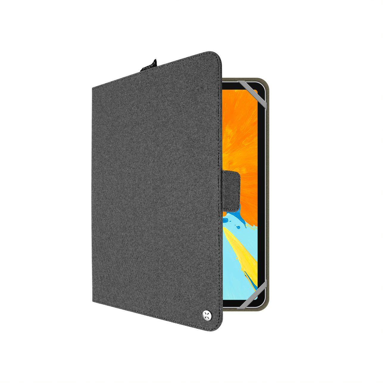 Textilní Pouzdro pro 10,1'' tablet FIXED,tmavá šedá - FIXNOV-T10-DGR