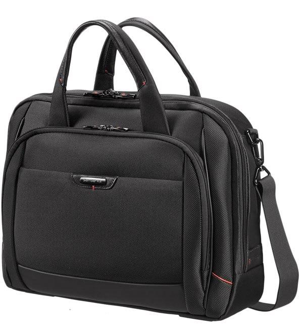 Samsonite Pro DLX4 Lapt.Bailhandle M 16´´ Black