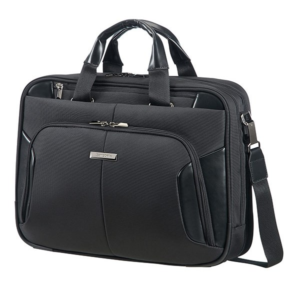 "08N*09007 Samsonite XBR BAILHANDLE 2C 15.6"" Black"