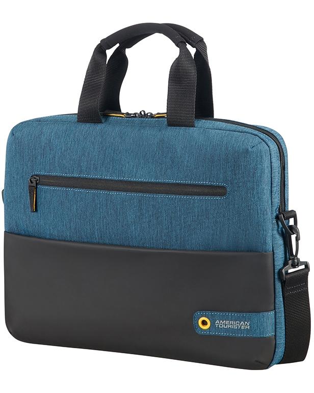American Tourister CITY DRIFT LAPTOP BAG 13.3'-14.1' BLACK/BLUE