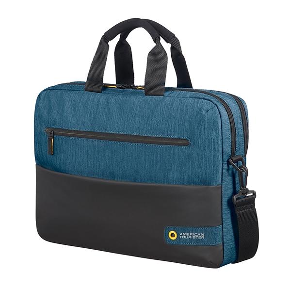 American Tourister CITY DRIFT LAPTOP BAG 15.6' BLACK/BLUE