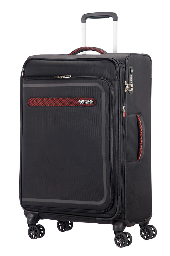 American Tourister Airbeat Spinner 68 Exp. Black
