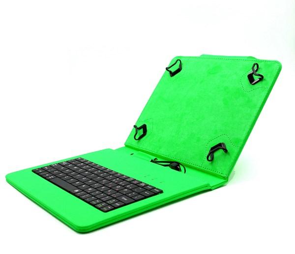 C-TECH pouzdro univer.s klav. 8' zelené