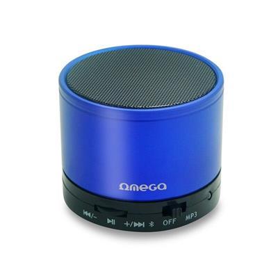 Bluetooth reproduktor 3W, FM, micro SD, modrý