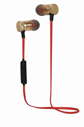 Bluetooth Sluchátka do uší S3 červené - 8588006167214