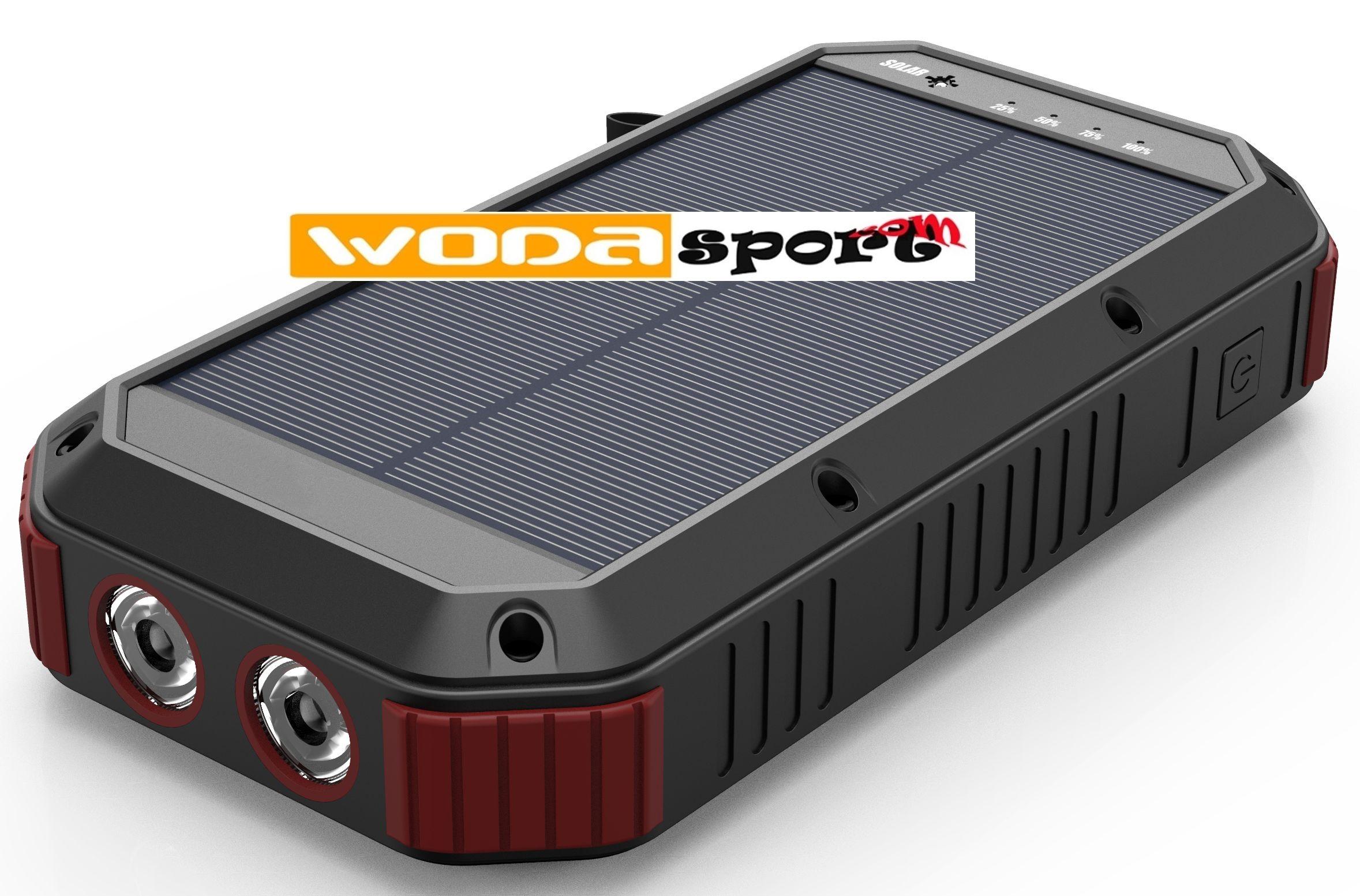 Solární powerbanka Wodasport® SolarDozer X30 WDS983S, Outdoor Ad