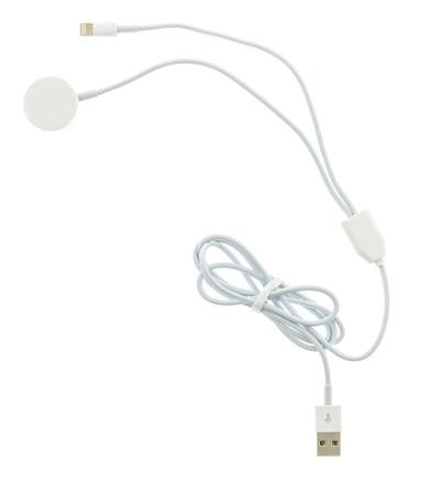 Tactical USB Nabíjecí Kabel 2v1 Lightning a pro Apple Watch 1/2/3/4