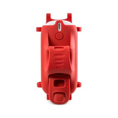BONE držák na kolo pro mobil s powerbankou, Bike Bone Power Plus 5200 - Red