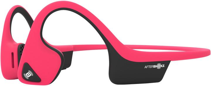 AfterShokz Trekz Air, Bluetooth sluchátka před uši, růžová