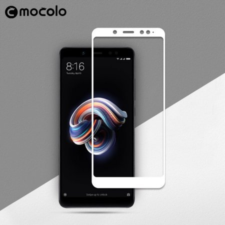Mocolo 5D Tvrzené Sklo White pro Xiaomi Mi A2 Lite