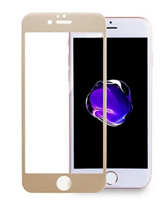 3D tvrzené sklo iPhone 7,8, gold