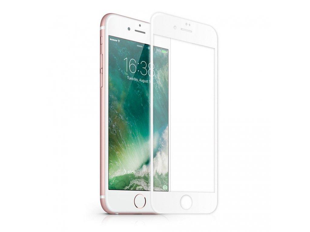 3D tvrzené sklo iPhone 7,8 PLUS white