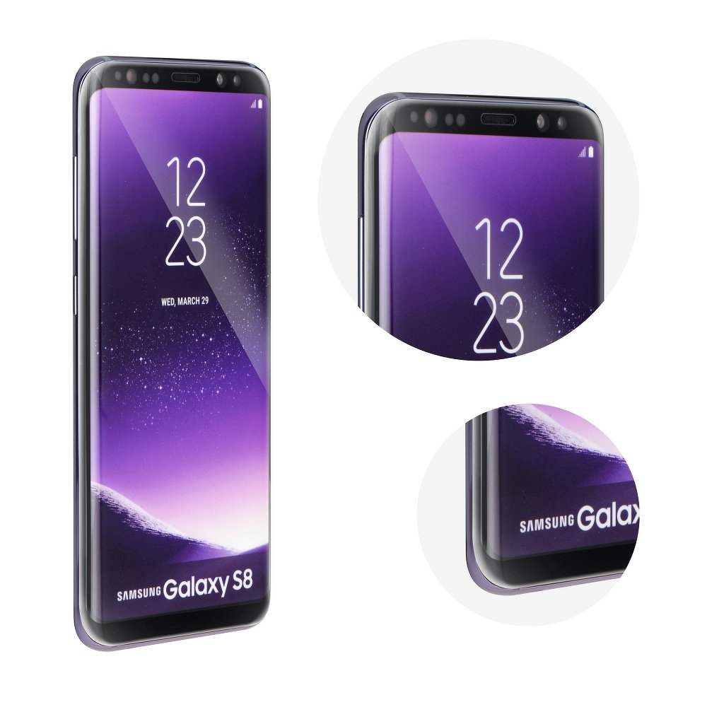 3D tvrzené sklo Samsung S8 (G950) Black