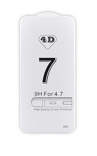 4D tvrzené sklo Apple iPhone 7/8 Plus Super Clear (FULL GLUE)