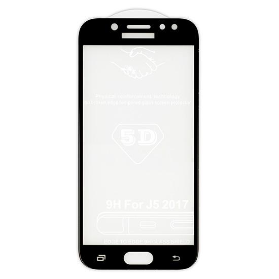 5D tvrzené sklo Samsung Galaxy J5 2017 (J530) Black (FULL GLUE)