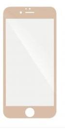 5D tvrzené sklo Apple iPhone 6 Gold (FULL GLUE)