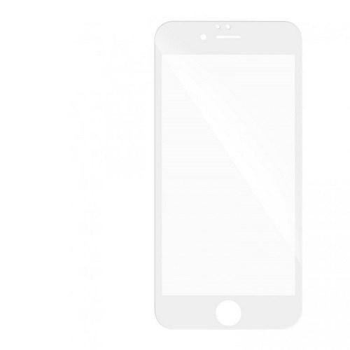 5D tvrzené sklo Apple iPhone 7/8+ White (FULL GLUE)