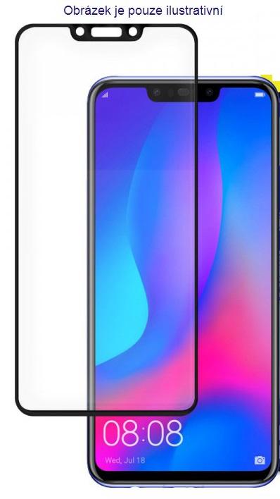 5D tvrzené sklo Huawei P30 Black (FULL GLUE)