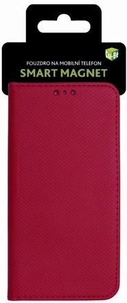 Cu-Be Pouzdro s magnetem Huawei Y7 2019 Red