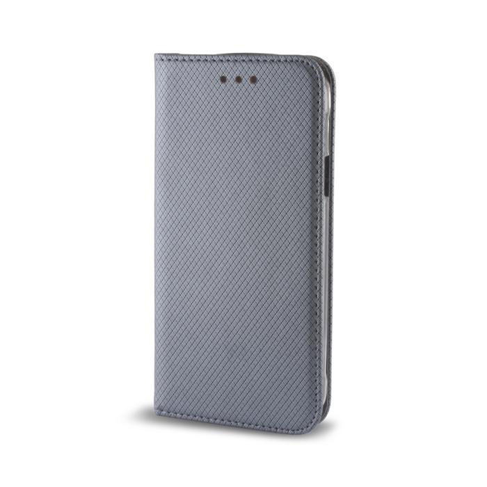 Pouzdro s magnetem  Sony Xperia M5 steel